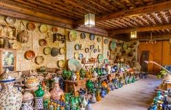 Atelier en céramique Image libre de droits