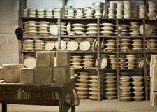 Atelier en céramique Photos libres de droits
