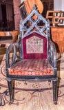 Atelier G de fauteuil Gambs Début du 19ème siècle Image libre de droits