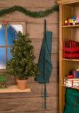 Atelier intérieur de Santa Photo libre de droits