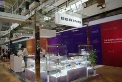 Atelier ouvert de bijoux dans le centre commercial Photographie stock libre de droits