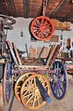 Atelier pour des chariots Photographie stock libre de droits