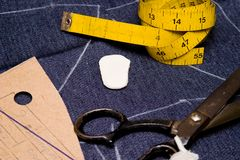 atelier projektanta mody Obraz Royalty Free
