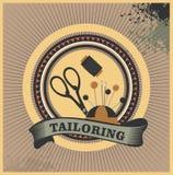Atelier tailoring emblem Stock Image