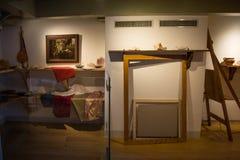 Atelier w Rembrandt muzeum fotografia royalty free