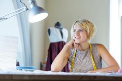 Atelier worker Royalty Free Stock Images