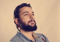 Atelieraufnahme des Hippie-Profils Lizenzfreie Stockfotos