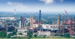 Ateliers d'usine chimique Photo stock