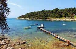 Atem, der Istria nimmt Stockfoto