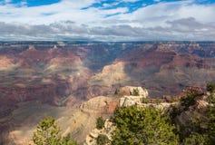 Atemberaubende szenische Ansicht der Landschaft in Nationalpark Grand Canyon s, Arizona, US Lizenzfreies Stockbild