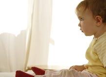 Atenção do bebê Imagens de Stock Royalty Free