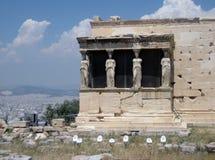 Aten akropol, Grekland Fotografering för Bildbyråer