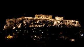 Atenakropol fotografering för bildbyråer