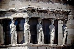 Atenas希腊Odeon Herodes Atico 免版税库存照片