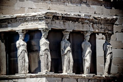 Atenas Греция Odeon Herodes Atico Стоковое фото RF