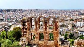 Atenas Arkivfoto