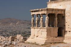 Atenas, Acropolis Fotografia de Stock Royalty Free