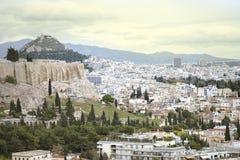 Atenas, Akropolis, Plaka Imagen de archivo libre de regalías