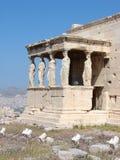 Atenas, as cariátides Imagens de Stock Royalty Free
