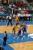 Atenas - basquetebol 2008 de FIBA Imagem de Stock