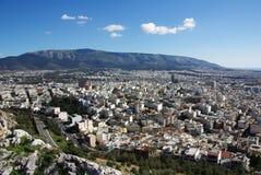 Atenas de acima Fotos de Stock
