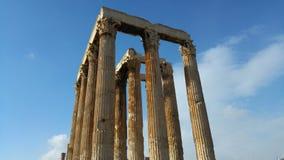 Atenas - Grécia - ruínas Foto de Stock