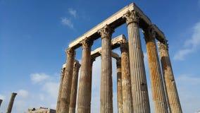 Atenas - Grécia - ruínas Imagens de Stock