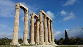 Atenas - Grécia - ruínas Fotografia de Stock