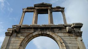 Atenas - Grécia - ruínas Foto de Stock Royalty Free