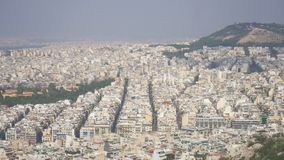 Atenas, Grecia almacen de metraje de vídeo
