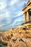 Atenas, Grecia - el Parthenon bajo reparación Imagen de archivo libre de regalías