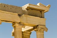 Atenas Grecja akropol Partenon Zdjęcie Stock