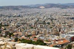 Atenas Grecja akropol Partenon Obrazy Royalty Free