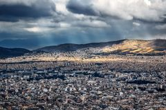 Atenas - greece Imagem de Stock