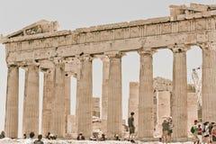 Atenas Greece Acropolis Partenon Stock Images