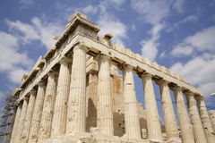 Atenas, Parthenon de la acrópolis Imagenes de archivo