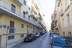 Atenas - tráfico ligero Imagen de archivo