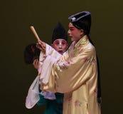 """Atención al  del oeste de Chamber†del """"the de la ópera de los ojos-Kunqu foto de archivo libre de regalías"""