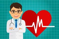 Atención sanitaria del doctor Imagenes de archivo