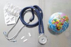Atención sanitaria global imágenes de archivo libres de regalías
