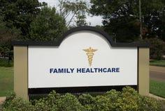 Atención sanitaria para la familia Foto de archivo