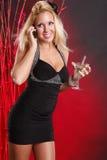 Atendimento de Martini Imagens de Stock Royalty Free