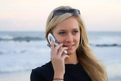 Atendimento de telefone Imagem de Stock Royalty Free