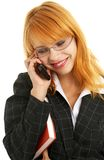 Atendimento de telefone #2 Imagens de Stock