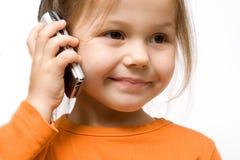 Atendimento de telefone Imagens de Stock