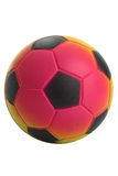 Atendimento pequeno do futebol dos miúdos Imagens de Stock Royalty Free