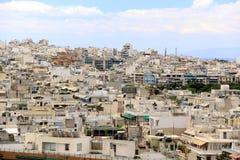 Atene è un capitale della Grecia Fotografia Stock