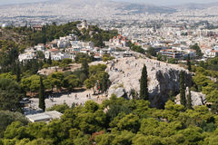 Atene Fotografia Stock Libera da Diritti