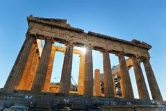Atene - acropoli fotografie stock libere da diritti