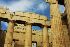 Atene, acropoli Fotografie Stock